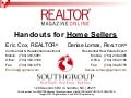 Handouts For Home Sellers