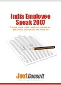Voice of Indian Empolyees - 2007