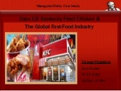 KFC & the Fast Food Industry