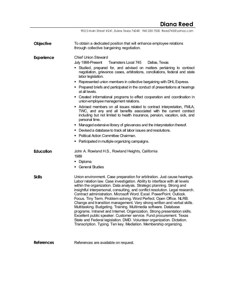 Apprentice Electrician Resume Sample SlideShare  Objective For General Resume