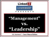 Management Vs Leadership Linked 2...