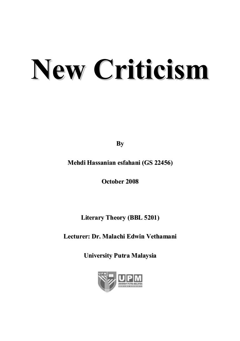 How to write a critical essay on a poem?