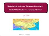 Opportunity In Chinas Consumer Econ...