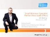 Q3 2009 Small Business Specialist P...
