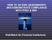 RiskWatch for Financial Institutions™