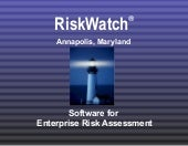 RiskWatch for Information Systems™