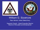 AdmiraL William G Sizemore