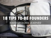10 Tips for Founders