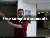 FREE sample legal documents for California and Federal litigation