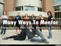 Many Ways To Mentor