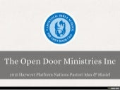 The Open Door Ministries Inc