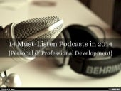 14 Must-Listen Podcasts in 2014