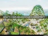 What's Your Organization's Handprint?