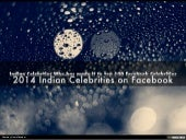 Leading indian Celebrities On Facebook