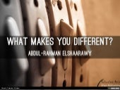 what makes you different?