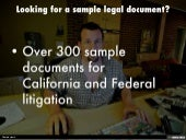 Over 300 sample legal documents for sale