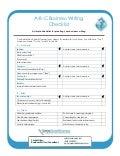 A B-C business writing checklist