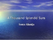 A Thousand Splended Suns