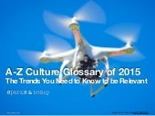 A-Z Glossary of 2014's Must-Know Terms