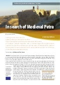 In search of Medieval Petra