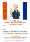 A2Z of Cool Internet Marketing Resources Websites & Apps
