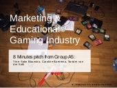 Marketing & Education Gaming Industry