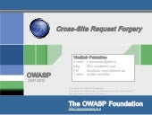 OWASP Serbia - A5 cross-site reques...
