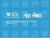 App Annie & IDC Portable Gaming Report 2014 Review