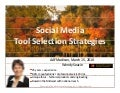 AAF Madison | Social Media Tool Selection  | Wendy Soucie