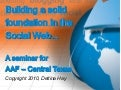 AAF Central Texas - Building a Solid Foundation in the Social Web