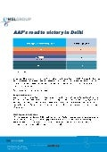 AAP Victory in Delhi - Insights by MSLGROUP in India