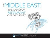 The Middle East: The Land of Restau...