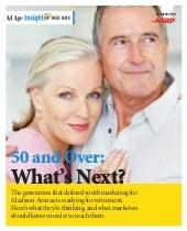 50 and Over: What's Next