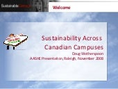 Sustainability Across Canadian Camp...