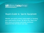 Buyers Guide to Sport Equipment on ...