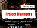 Abaixo aos Project Managers
