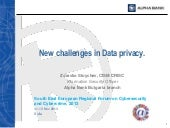 New Challenges in Data Privacy - Cy...