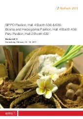 Exhibitor Catalogue - BioFach 2011