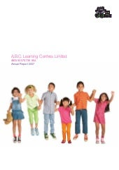Abc learning-annual-report-2007
