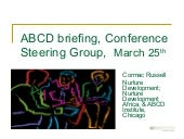 Abcd University of Limerick Briefing