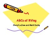 ABCs of RVing