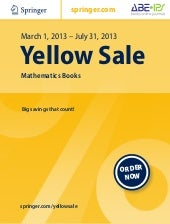 Yellow Sale |  Mathematics Books up...
