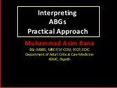 Interpreting Blood Gases, Practical and easy approach