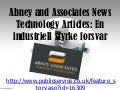 Abney and associates news technology articles   en industriell styrke forsvar