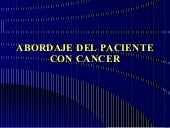 Abordaje Paciente con Cancer