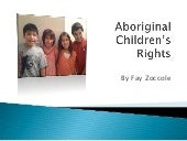 Aboriginal Children's Rights