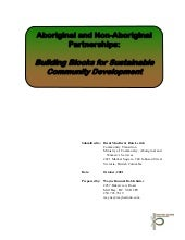 Aboriginal and Non-Aboriginal Partn...