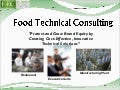 About Food Technical Consulting