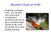 Abraham Hicks en Vivo