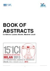Abstract Book of The 15th Internati...